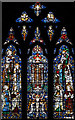 TQ0891 : Holy Trinity, Northwood - Stained glass window by John Salmon