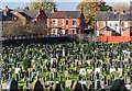 SD8701 : Moston Cemetery by Peter McDermott