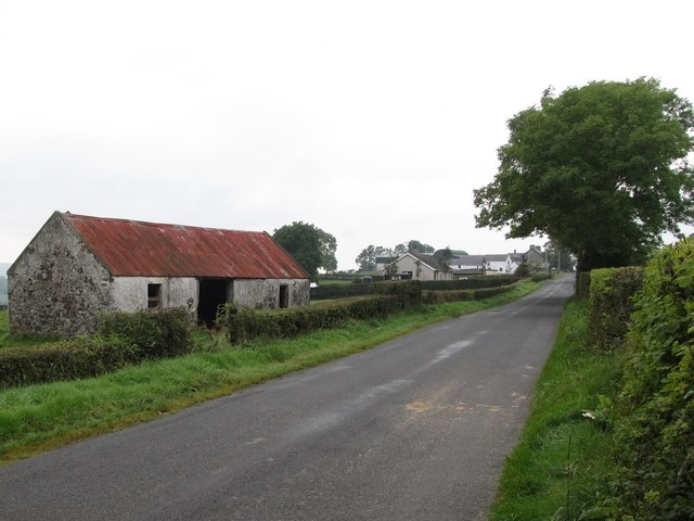 Settlement along Begny Hill Road