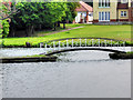TG3017 : Bridge over an Inlet in the River Bure near Wroxham by David Dixon