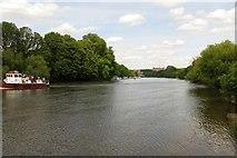 TQ1773 : The River Thames at Ham by Steve Daniels