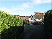TQ3303 : Lodge, John Howard Cottages, Roedean Road, Brighton by Simon Carey