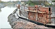 J3674 : Connswater path works, Belfast - November 2015(4) by Albert Bridge