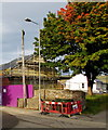 SO2509 : Early autumn colour in Blaenavon by Jaggery