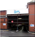 ST3088 : Entrance to The Gym's car park, Station Street, Newport by Jaggery