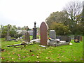 SN0904 : East Williamston - St Elidyr's Churchyard - newer extension by welshbabe