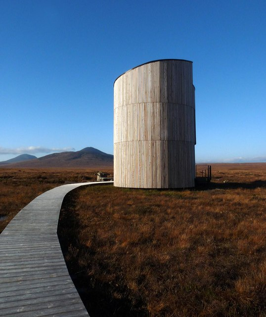 The Flows Lookout Tower, RSPB Forsinard, Sutherland