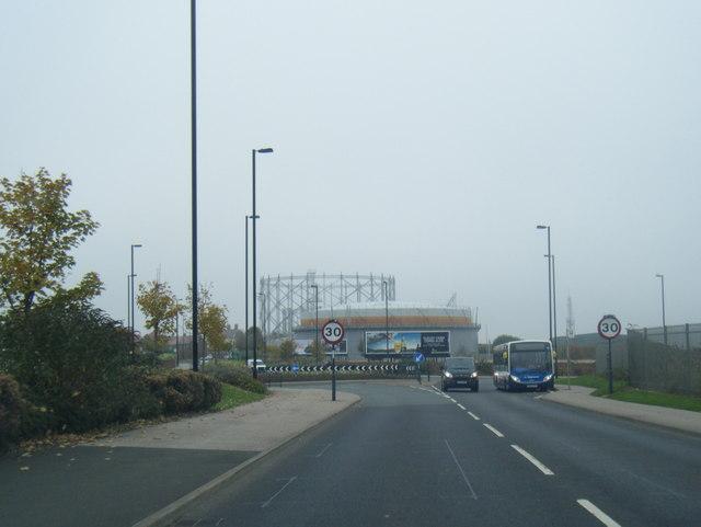 A1018 road