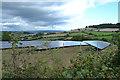 SX9177 : Solar farm on the southeast side of Colley Lane Cross by Robin Stott