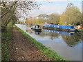 TQ1280 : Malham, narrowboat cruising near Hayes and Southall by David Hawgood