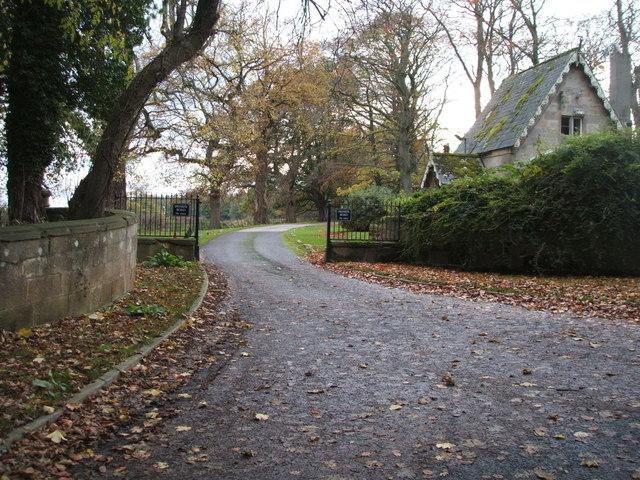 Gateway to Middleton Lodge