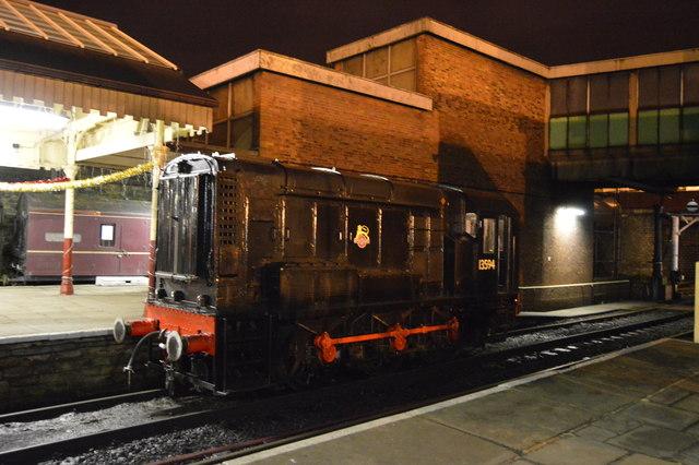 Engine at Bury Bolton Street Station