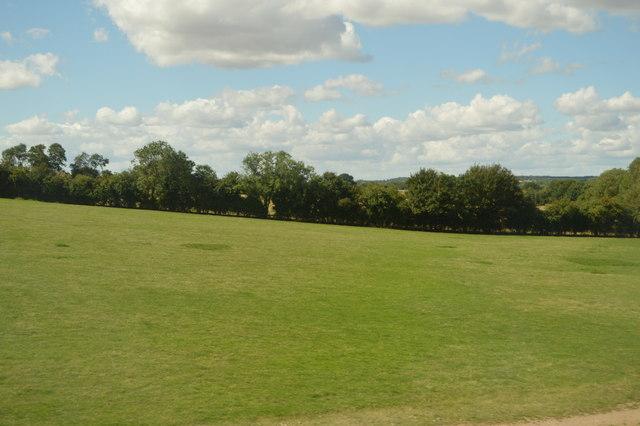Farmland near Moor End