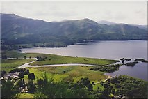 NY2619 : Southern end of Derwentwater by Richard Sutcliffe