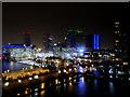 SJ8097 : MediaCityUK at Night by David Dixon