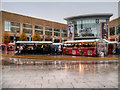 SJ8097 : 2015 Christmas Market, Lowry Plaza by David Dixon