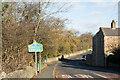 NZ0952 : Road sign beside A691 entering Shotley Bridge by Trevor Littlewood