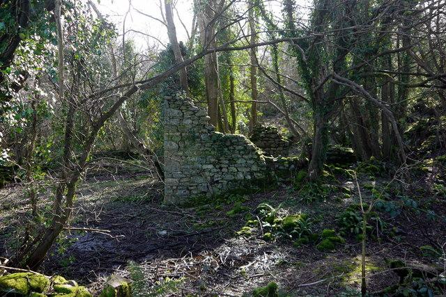 The ruin of Parcau