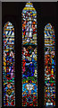 SK9272 : East window, St Lawrence's church, Skellingthorpe by Julian P Guffogg