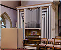 SK9272 : Organ, St Lawrence's church, Skellingthorpe by Julian P Guffogg