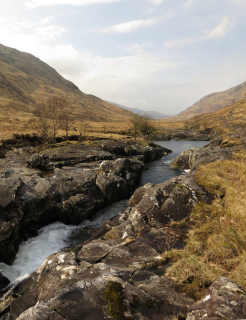 Narrows on the River Carnoch
