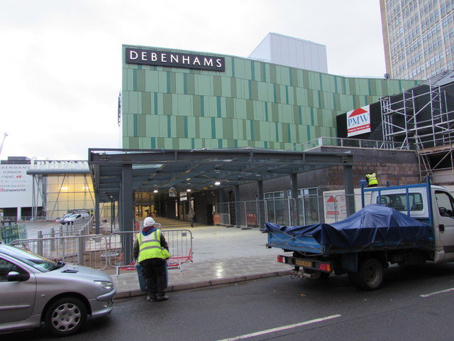 New Friars Walk bus station not yet open, Newport by Jaggery