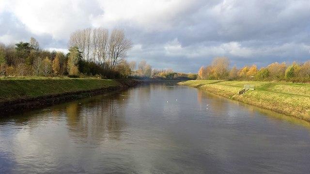 River Irwell, Lower Kersal