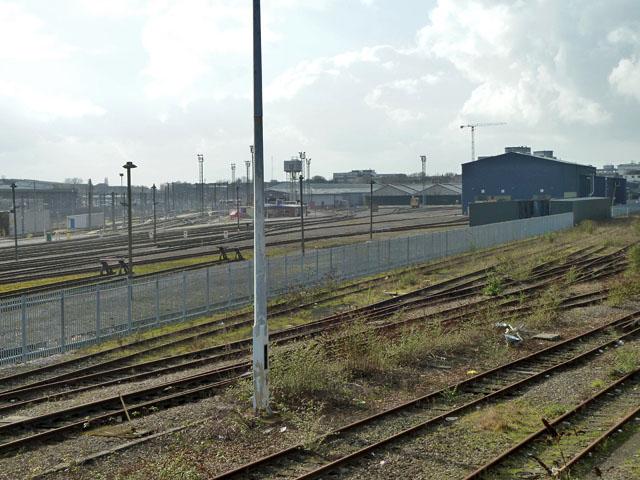 Railway at Old Oak Common