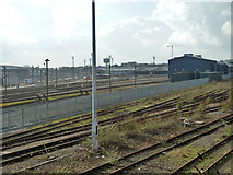 TQ2282 : Railway at Old Oak Common by Robin Webster