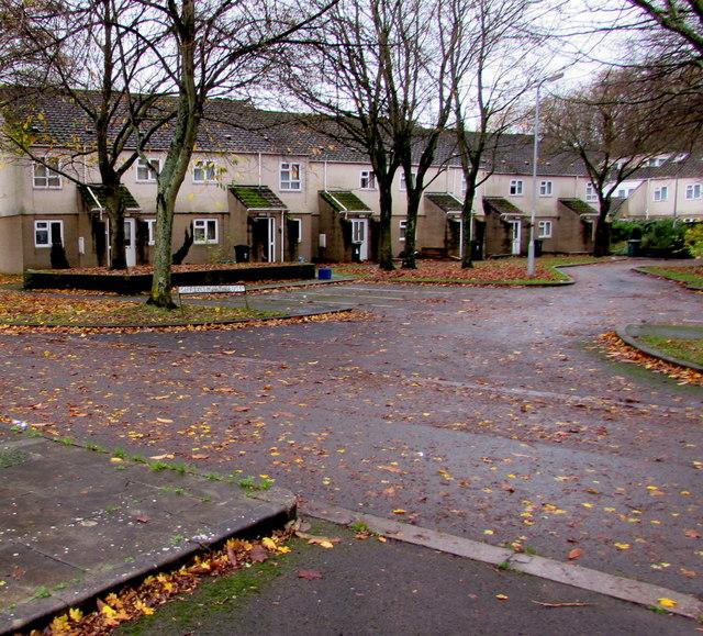 Shrewsbury Close, Crindau, Newport by Jaggery