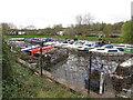ST6866 : Saltford Marina by David Hawgood