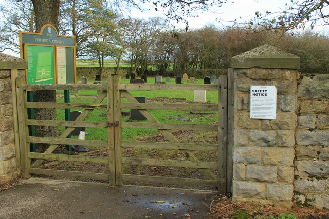 Gates to Fewston Cemetery