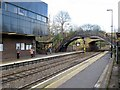 NZ2567 : South Gosforth Metro Station by Andrew Curtis