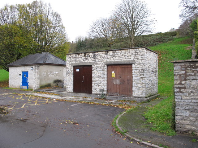 Pumping station and public toilets, The Shallows, Saltford