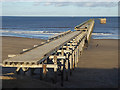 NZ5035 : Steetley Magnesite Pier by Oliver Dixon