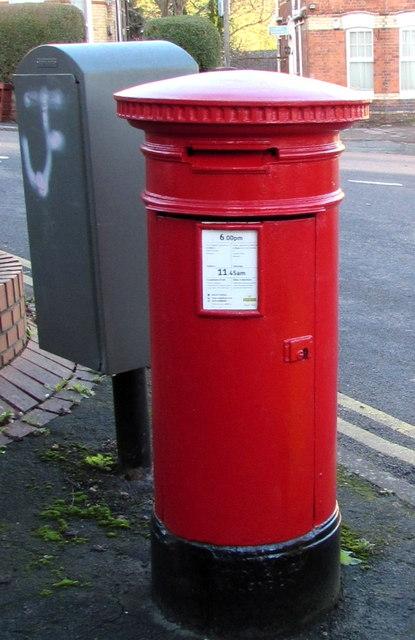 Victorian Anonymous pillarbox in Newport