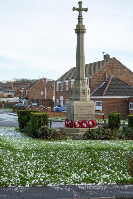 War Memorial, Witton Gilbert