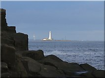 NZ3671 : Table Rocks, Whitley Bay by Andrew Curtis
