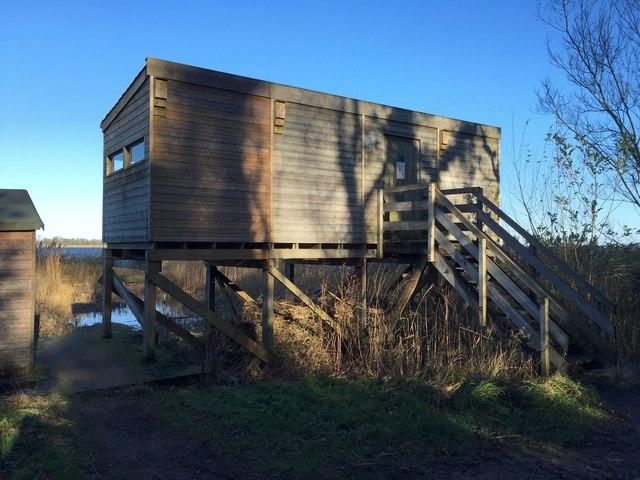 Belvide Reservoir: the Scott Hide