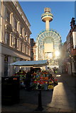 SJ3490 : Fruit stall outside Clayton Square Shopping Centre, Liverpool by Mike Pennington