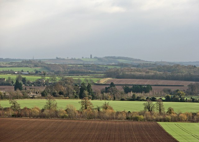 South-east from Little Trees Hill