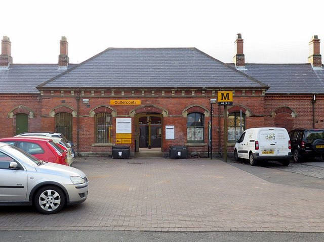 Cullercoats Metro Station