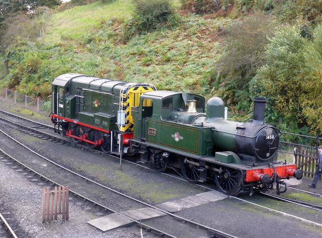 Severn Valley Railway - shunting the yard