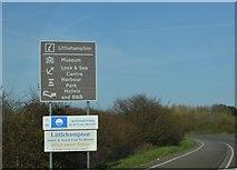 TQ0102 : Entering Littlehampton, A259 by N Chadwick
