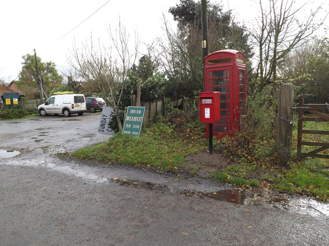 Telephone Box & Horseshoes Postbox