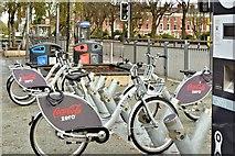 J3372 : Belfast Bikes, Queen's University (November 2015) by Albert Bridge