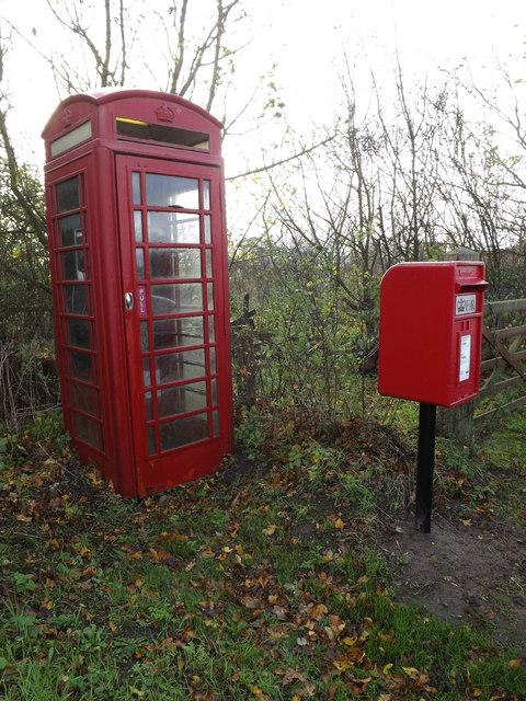 Telephone Box & Horseshoes Postbox