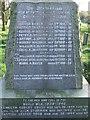 TM4888 : Roll Of Honour by Keith Evans