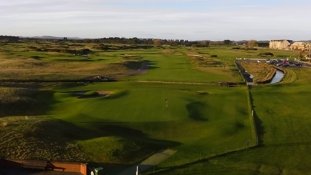 18th Green Championship Course