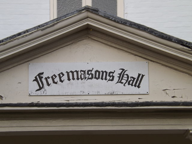 Freemasons Hall sign